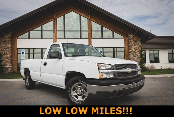 2004 Chevrolet Silverado 1500 Work Truck Chevrolet Dealer In Troy Mo Mo Used Chevrolet Dealership Serving St Louis Mo Mo